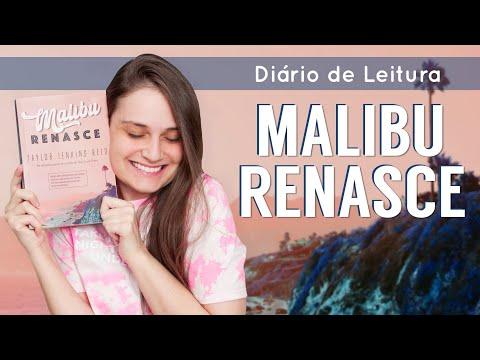 Vlog de Leitura - Malibu Renasce l O mais novo lançamento de TAYLOR JENKINS REID! sem spoilers