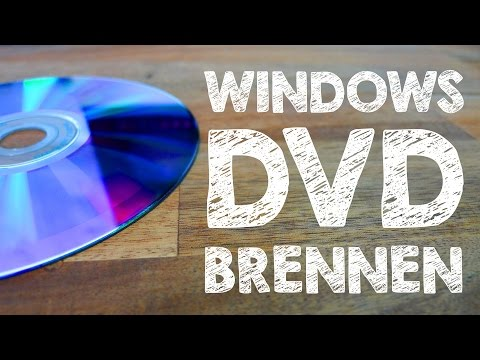 Windows 10 Installations DVD bzw. CD brennen 🔥 Tutorial