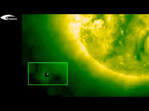 The giant aliens spaceships   UFOs, Anomalies and holograms in solar space on NASA's images   July 1