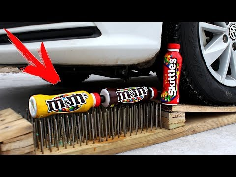 EXPERIMENT: CAR VS M&M's