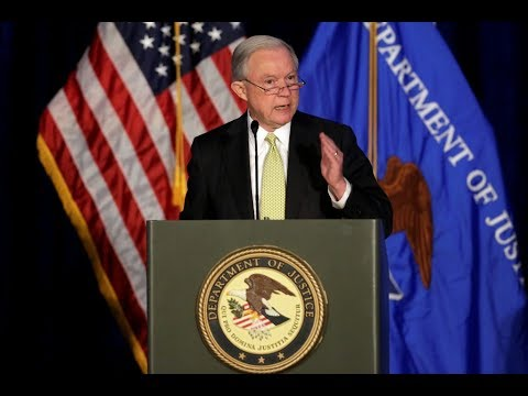 WATCH LIVE: Attorney General Jeff Sessions speaks at DOJ Hate Crimes Summit