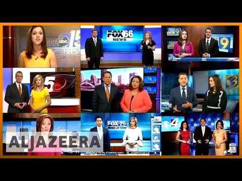🇺🇸 Pro-Trump TV network under fire for 'fake news' script | Al Jazeera English