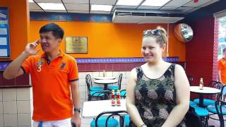 To Visit Deaf KFC Restaurant In  Sabah Malaysia .