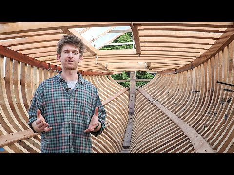 BoatBuilding - Finishing the Deck Structure! (EP73)