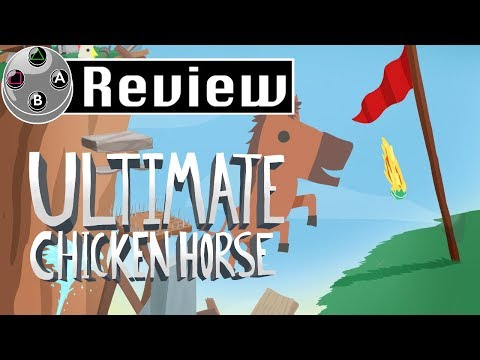 Ultimate Chicken Horse Review - Hilarious Multiplayer Platformer video thumbnail