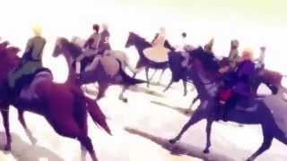 【APヘタリアMMD】お馬さんに乗ってATEH【走るそして歌う】