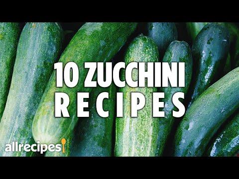Top 10 Zucchini Recipes | Recipe Compilations | Allrecipes.com