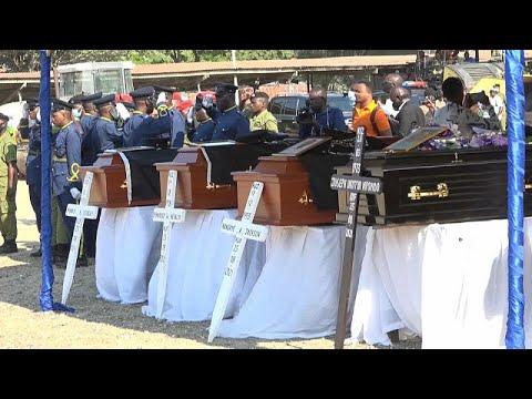 La Tanzanie a rendu hommage aux victimes de la fusillade La Tanzanie a rendu hommage aux victimes de la fusillade