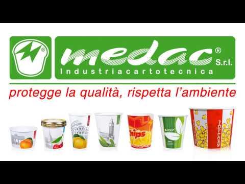 Medac: coppe da gelato e bicchieri in carta biodegradabili