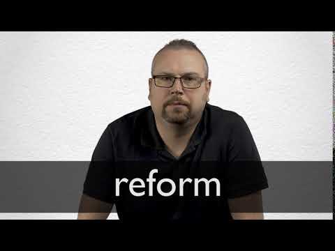 reform englisch