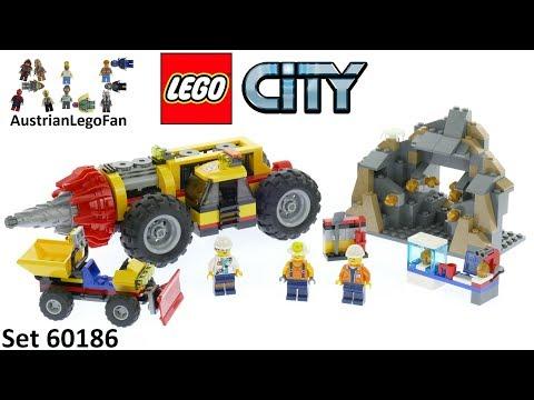 Vidéo LEGO City 60186 : La foreuse du minerai