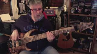 Flames By David Guetta & Sia My Personal Bass Cover With MTD Bass 535 24