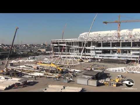 Arena Corinthians: Por dentro da Obra - 09/05/2013