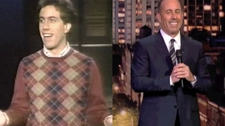 Seinfeld's First & Last on Dave, 1982 and 2015, Upgrade