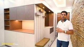 3 BHK Complete Interiors Powered By Hafele Hardware & Blum Kitchen At SNN Raj Etternia, Bangalore