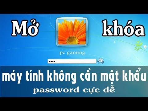 Cách mở khóa máy tính không cần mật khẩu , password cực dễ - pc online repair