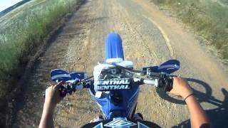 Yz 85 - Day 1  wheelie practise HD