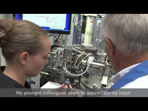 Bosch senior experts at work: Ernst Gründler