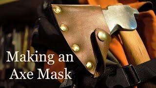 Making a Bushcraft Axe Mask