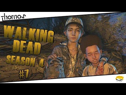 The Walking Dead 4 - |#07| - Do starých kolejí! | Český Let's Play | Částečný překlad