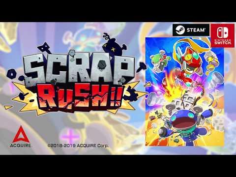 SCRAP RUSH!! - Announcement Trailer- thumbnail