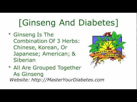Menü für einen Diabetiker 12-Typen