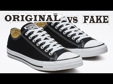 Converse Chuck Taylor All Star Classic Low Original & Fake