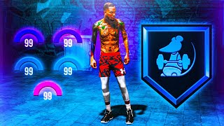 HOW TO UNLOCK GYM RAT BADGE FAST IN NBA 2K20