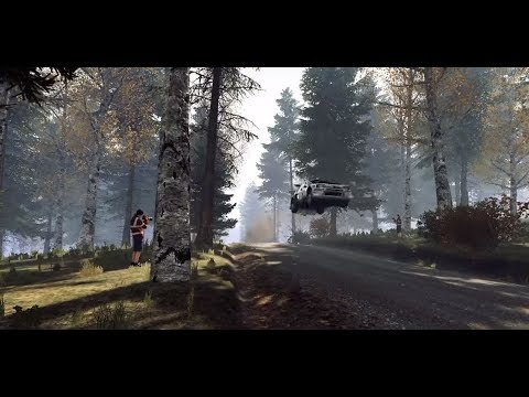 Dirt rally 2.0 - Finland - Trying different cars over the jumps