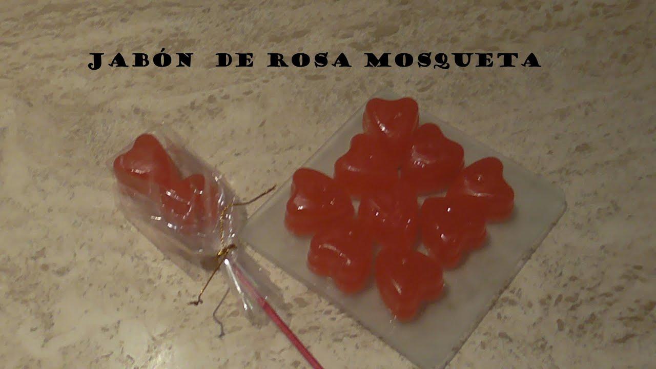 Cómo hacer jabón de Rosa Mosqueta para San Valentín