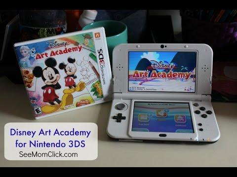 Review & Demo: Disney Art Academy for Nintendo 3DS