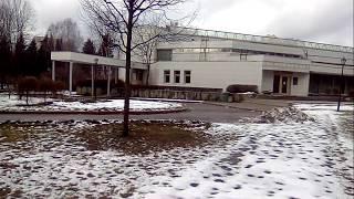 ЗАГС Выборгского района у метро пл. Мужества. Санкт-Петербург 02.03.2020