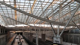 preview picture of video 'Paris: CDG Train Station & Airport (Gare Et Aeroport)'