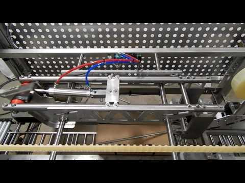 Selladora con grado sanitario TBS-100FC XL RTE para cajas tipo Bliss y llenadas en exceso