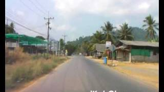 preview picture of video 'Road (East Coast of Koh Chang), Salak Phet Bay, Koh Chang, Trat, Thailand'