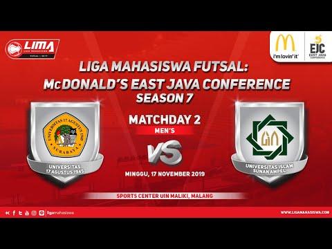 Men's UNTAG vs UINSA LIMA Futsal: McDonald's EJC Season 7
