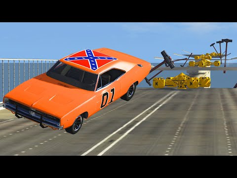 CRAZY WIPEOUT for Cars - BeamNG DRIVE