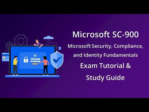 Microsoft SC 900 Security, Compliance & Identity Fundamentals ...