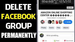How To Delete Facebook Group 2020 | Facebook Group Delete Kaise Kare