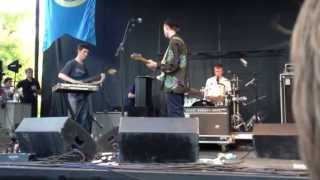 King Krule (Zoo Kid) Baby Blue Live at 2012 Pitchfork Music Festival
