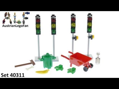Vidéo LEGO Objets divers 40311 : LEGO Xtra - Feux de circulation
