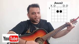 Kk || Yaaron Dosti || Guitar Lesson || Easy Beginner Lesson