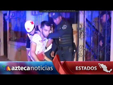 Video: hallan a ladrón herido en techo de casa... se lastimó con varilla