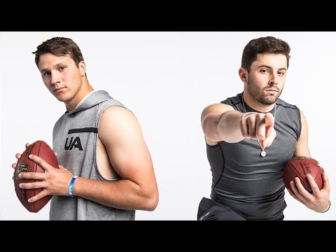 Baker Mayfield & Josh Allen Put on a Show for Workouts!   NFL Combine Highlights