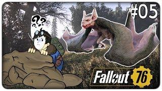 IL MOSTRUOSO PIPISTRELLO GIGANTE VOLANTE | Fallout 76 - ep. 05 [ITA]