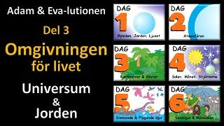 Thumbnail for video: Adam och Eva-lutionen Del 3: Omgivningen för livet (Jorden & Universum)
