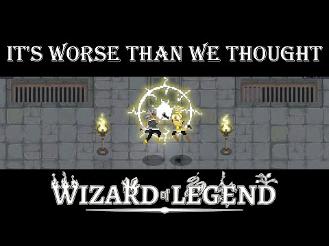 Its Worse Than What We Thought! - Wizard of Legend (Thundering Keep Update)