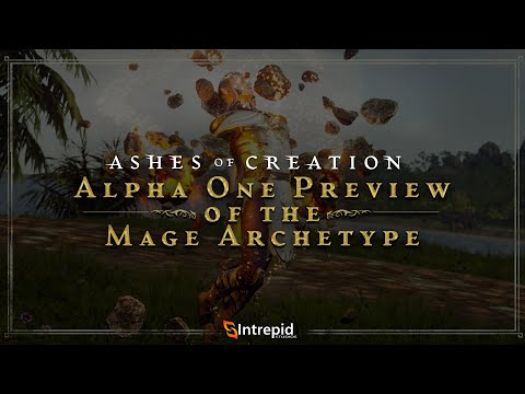 Ashes of Creation Showcases The Mage Archetype In Alpha One Preview Blog