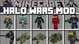 Minecraft HALO WARS MOD / FIGHT AGAINST COVENANT MOBS AND WIN THE WAR!! Minecraft - dooclip.me