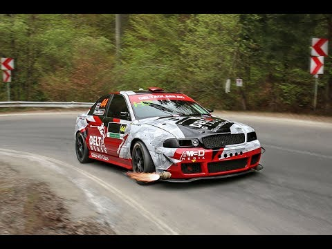 [SPY CAM] Alex MIREA / Audi A4 B5 1.8 Turbo quattro / Trofeul Rasnov 2017